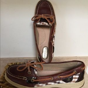 Sperrys Size 6 Leather Excellent Condition